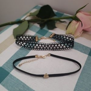 Jewelry - Set of 2 chokers